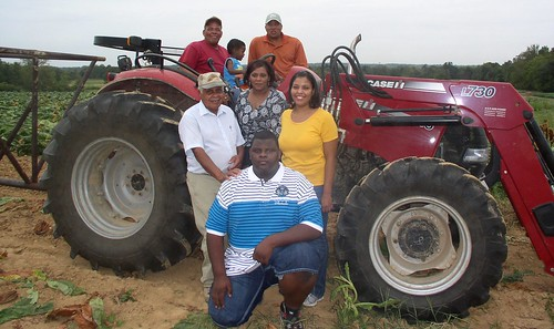 Pictured is (back l to r) Tony Eldridge, Winston Lewis, Ron Eldridge; (middle l to r) Hoover Eldridge, Denese Eldridge, Courtney Lewis and Kaelin Wilkins.