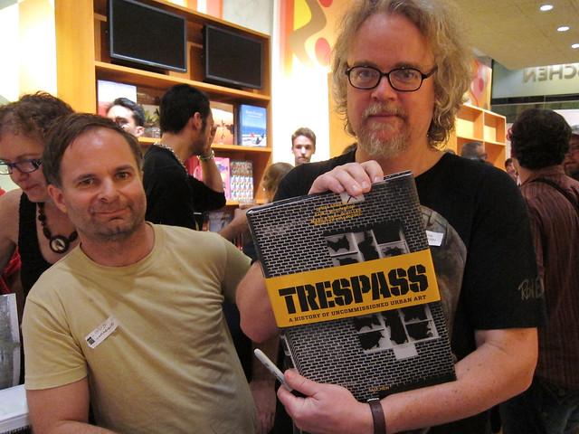 Trespass Book Launch Event