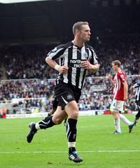 Newcastle United v Stoke City, Kevin Nolan