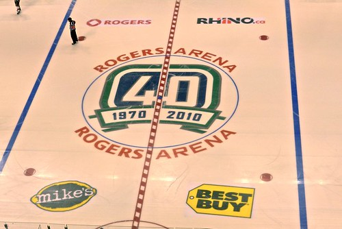 Canucks 40th - Rogers Arena
