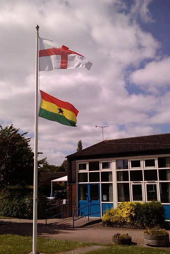 Weston Turville flags