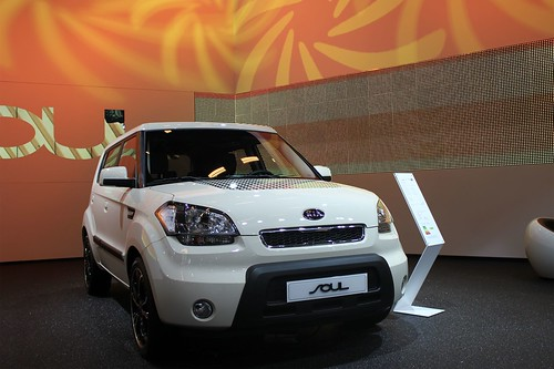 Kia Soul at the Paris Motor Show