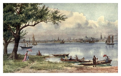 016-Toronto desde la isla-Canada-1907- Thomas Martin Mower
