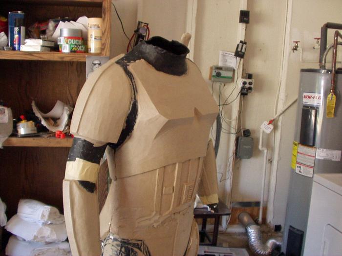 Stormtrooper Sculpt Progress