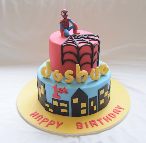 Spiderman for Joshua