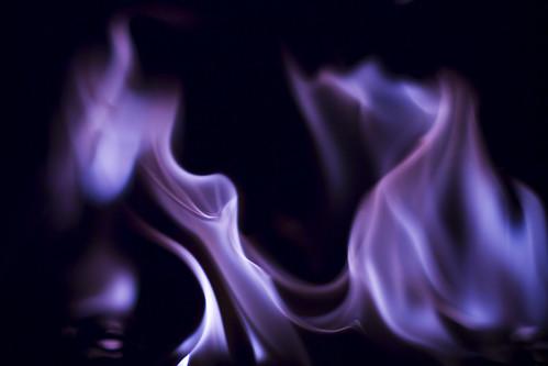 フリー写真素材, テクスチャ・背景, 火・炎, パープル,