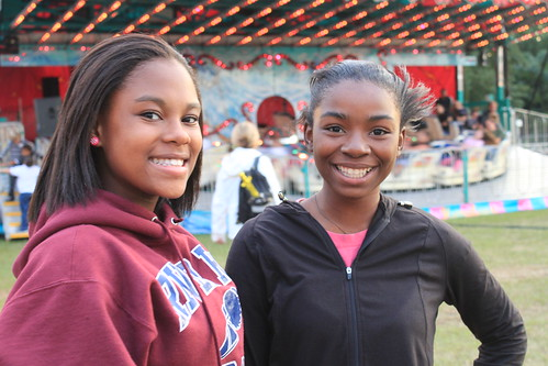 Chowan County Fair - Deja and Khaliya