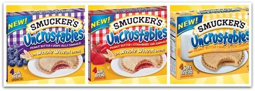 New Varities of Uncrustables