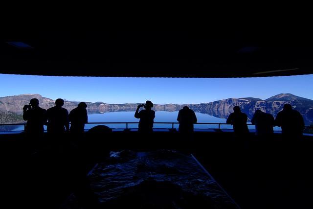 Crater Lake from Sinnott Memorial Overlook