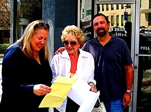 Christine Moore, Ginny Mancini, Robert Moore