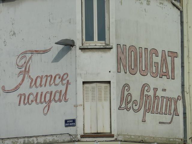 Montellimar Nougat Sign