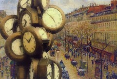 Montmarte Clocks