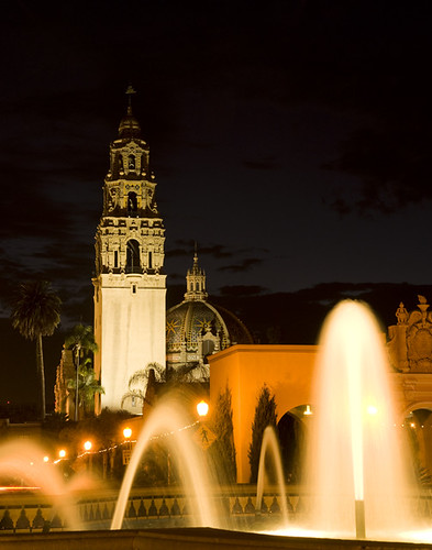 Night at Balboa Park