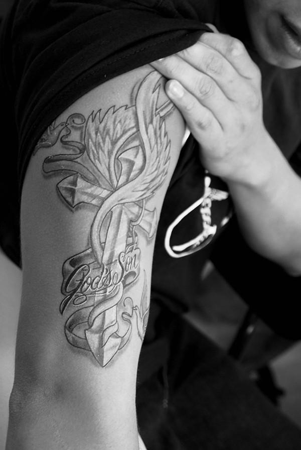 Brian's Tattoo