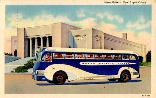 Union Pacific Super-Coach Bus, 1938