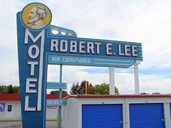 Robert E Lee Motel sign (refurbished)