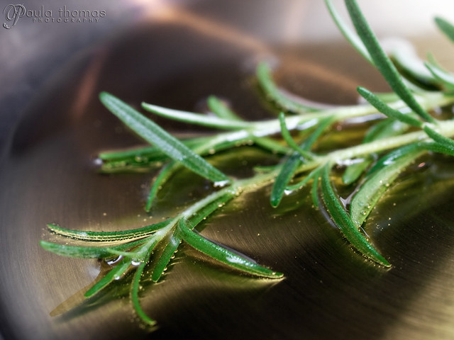 Frying Rosemary