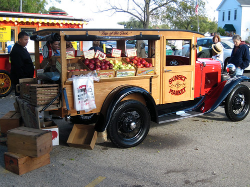 Sunset Market Fruit Truck