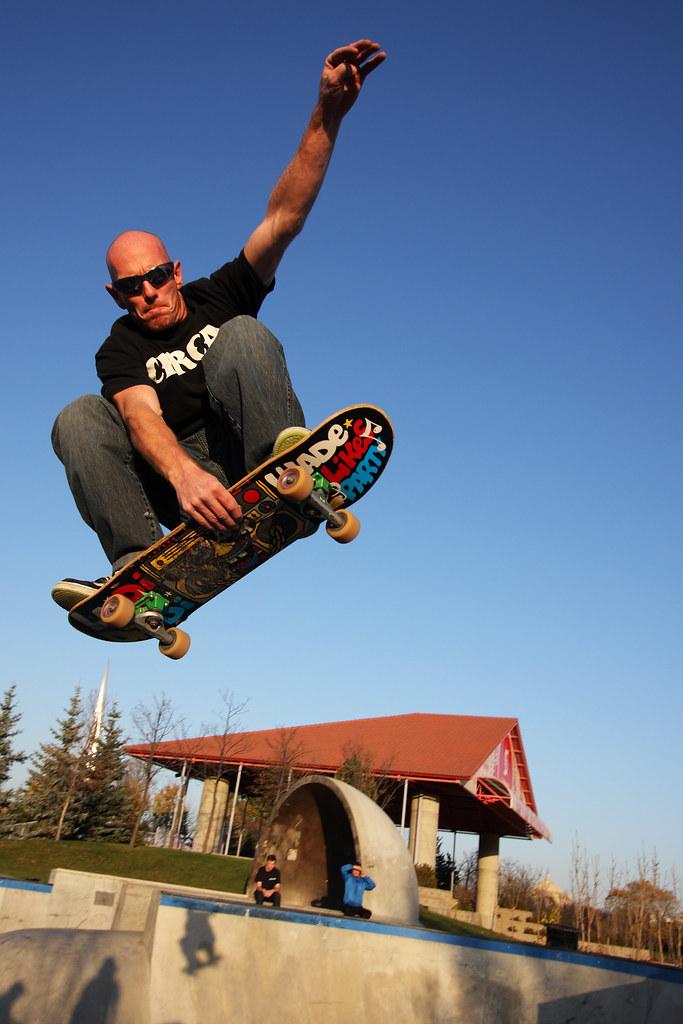 Winnipeg Forks Skatepark