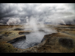 Mud pools (Kaj Bjurman) Tags: pool island eos iceland warm mud 5d hdr myvatn kaj markii geotermal bjurman