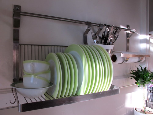 Lime Green Dishes!
