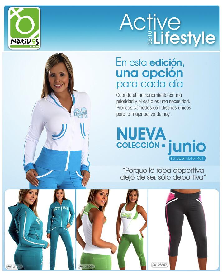 Active Lifestyle 1 (Nativos ActiveWear) Tags  moda ropa active medellín  sportswear activewear nativos 0284375c9379e