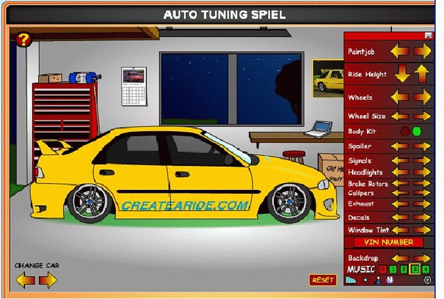auto tuning games
