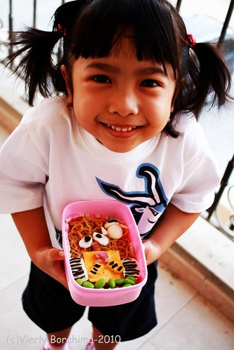 She love her bento