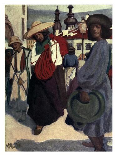 009-Campesinos regresando del mercado de la mañana en Kolozxvár Transilvania-Hungary and the Hungarians 1908- Bovill W.B Forster