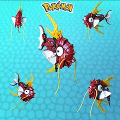 Evolve Already! (retinence) Tags: lego pokemon fusion bionicle magikarp magicarp