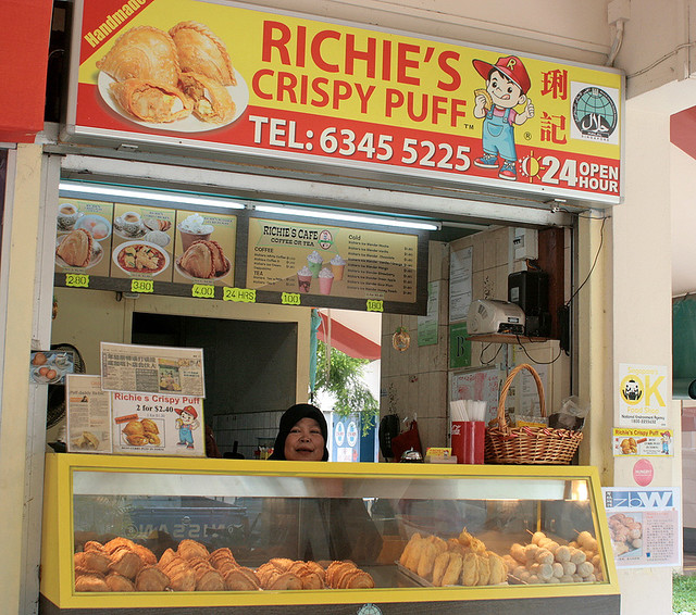 Richie's gives you 24-hour crispy curry puffs