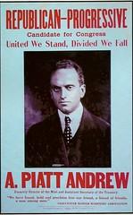 A. Piatt Andrew campaign poster
