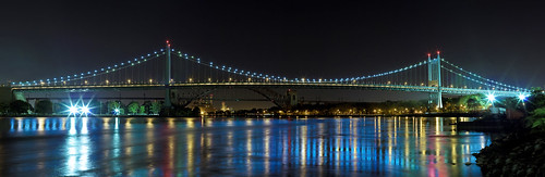 Triboro & Hell Gate Bridge Pano