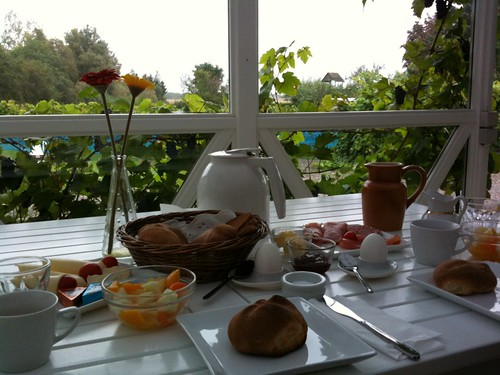 Nice Breakfast at Danish B&B
