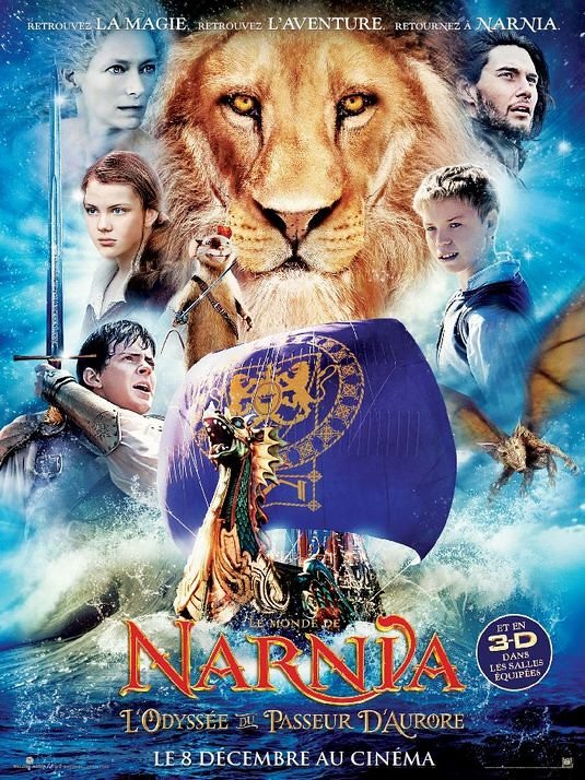 poster The Chronicles of Narnia The Voyage of the Dawn Treader