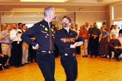 Jim & Buckey (badcampix) Tags: gay men countrymusic squaredancing twostepping