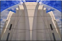 """Roma - """"giocando"""" con le Vele di Richard Meier (G.hostbuster (Gigi)) Tags: playing rome roma church architecture chiesa architettura ghostbuster geometrie geometries giocando gigi49 leveledirichardmeier"""