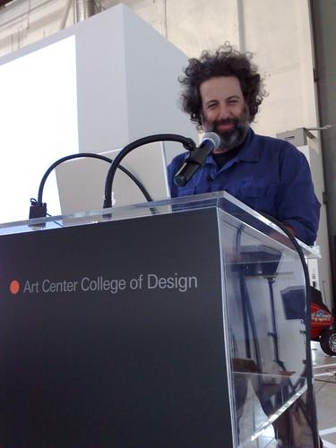 Eddo Stern at Art Center Media Design Program Design Dialogues
