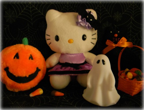 Hello-ween Kitty and friends.