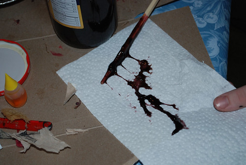 Zombie how-to: blood