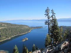 A view of Emerald Bay Photo