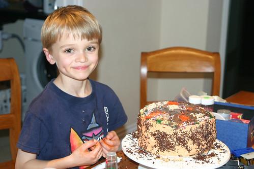 Owen's birthday cake