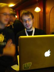 Kornel's laptop