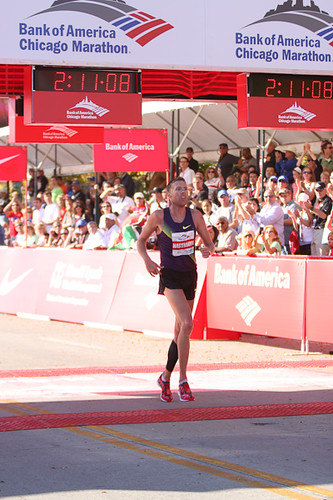 Jason Hartman Top American in Chicago Marathon 10-10-10