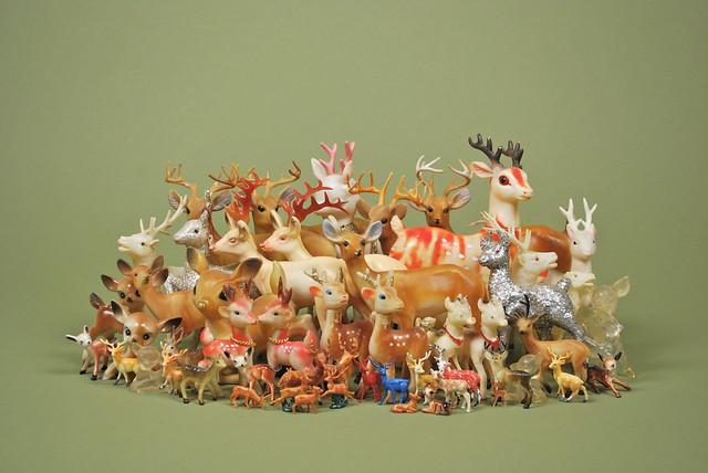 {plastic deer}