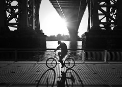 (Barry Yanowitz) Tags: nyc newyorkcity bridge ny newyork bike bicycle les manhattan lowereastside bridges bikes bicycles transportation gothamist williamsburgbridge nycity eastriverpark