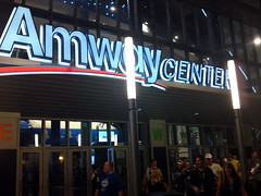 Amway Center entrance (msnguy81) Tags: basketball florida arena nba orlandomagic centralflorida orlandoflorida inauguralgame 101010 nbabasketball amwaycenter