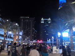 Skyline view from the plaza @ Amway Center (msnguy81) Tags: basketball florida arena nba orlandomagic centralflorida orlandoflorida inauguralgame 101010 nbabasketball amwaycenter
