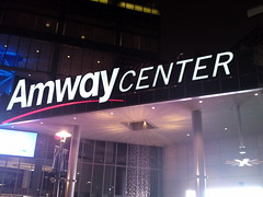 Exterior Signage at Amway Center (msnguy81) Tags: basketball florida arena nba orlandomagic centralflorida orlandoflorida inauguralgame 101010 nbabasketball amwaycenter
