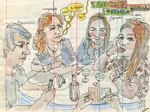 margarida, leonor, eduardo & lapinette